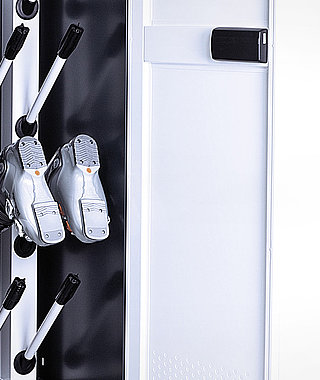 DEPOT LOCKER 650 - Secure storage and drying of the complete winter sports equipment